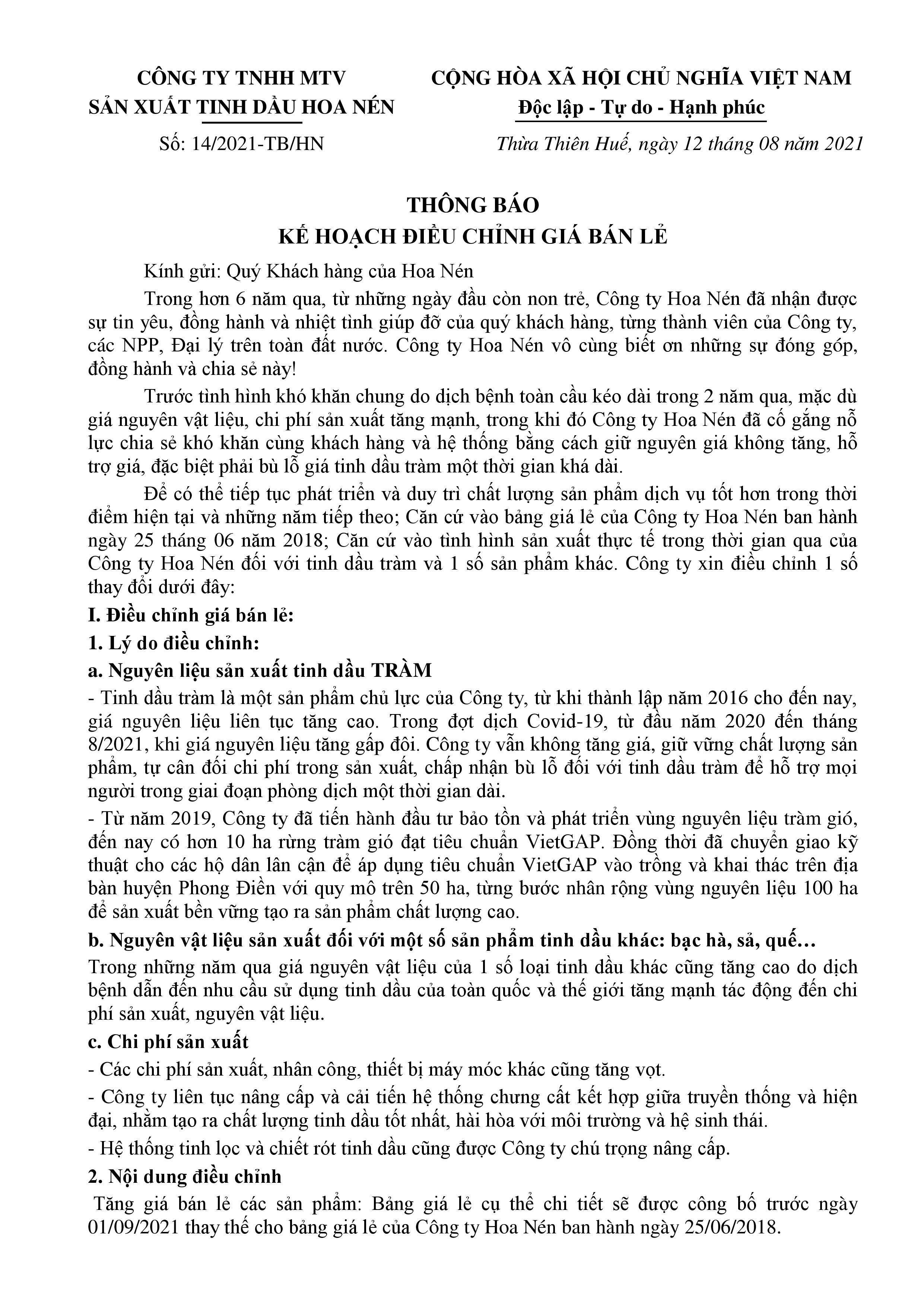 THONG BAO 2 DIEU CHINH GIA 2021 GUI KHACH HANG  16.8-page-001